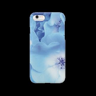 arlieのblueflower Smartphone cases