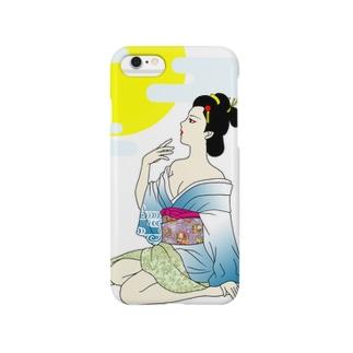 お月見 Smartphone cases
