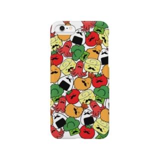 ヒゲ弁当(いっぱい) Smartphone cases