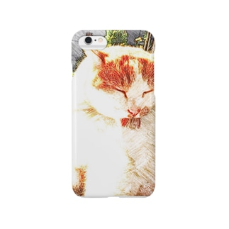 癒し猫 Smartphone cases