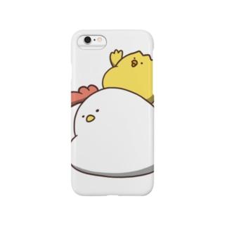 背負い鳥 Smartphone cases