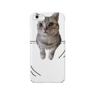 サンプル=あなたのペットちゃんin ポケット Smartphone cases