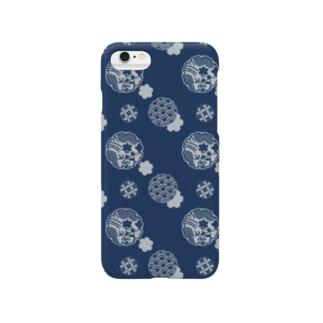 雪輪紋-Yukiwa- Smartphone cases