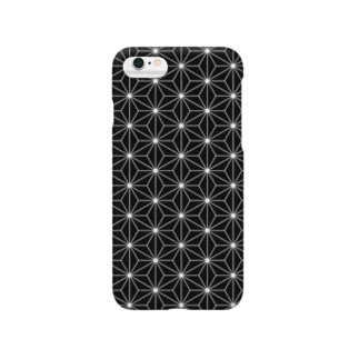 麻の葉-Asanoha- Smartphone cases