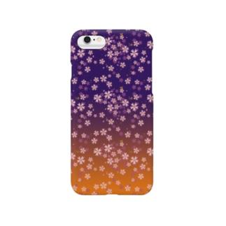 桜-Sakura- 夕暮 Smartphone cases