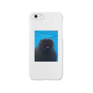 髭モサモサくん Smartphone cases