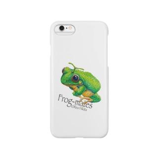 カエルメイト(Frog-mates)より「メロッグ」 Smartphone cases