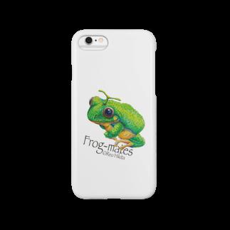 引田玲雄 / Reo Hikitaのカエルメイト(Frog-mates)より「メロッグ」 Smartphone cases