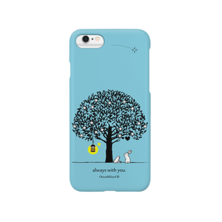 OrccaMiicofのalways with you.(SkyBlue) Smartphone cases