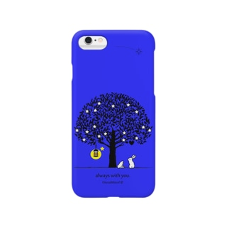 always with you.(UltraMarineBlue) Smartphone cases