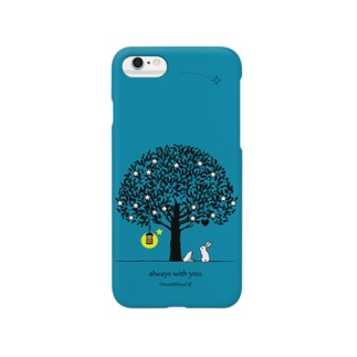 always with you.(IndigoGreen) Smartphone cases