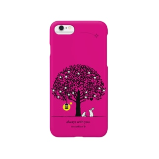 always with you.(FuchsiaPink) Smartphone cases