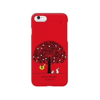 always with you.(PureRed) Smartphone cases