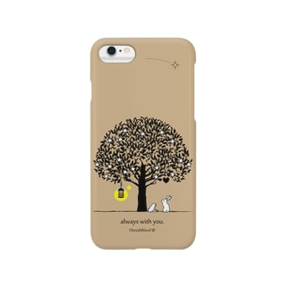 always with you.(Beige) Smartphone cases