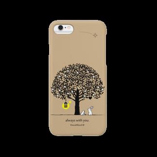 OrccaMiicofのalways with you.(Beige) Smartphone cases