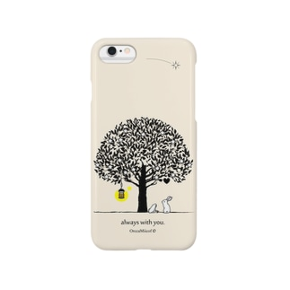 always with you.(Ivory) Smartphone cases