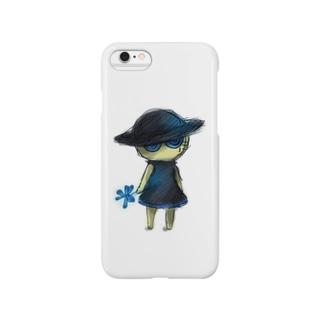 青い帽子の妖精ふぉん Smartphone cases