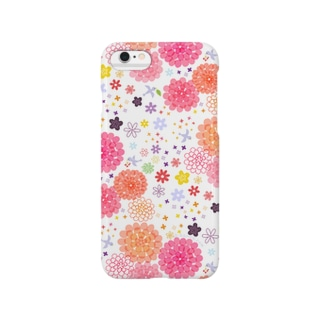 flowers(pink) Smartphone cases