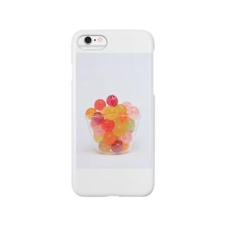 かおかし・キャンディ Smartphone cases