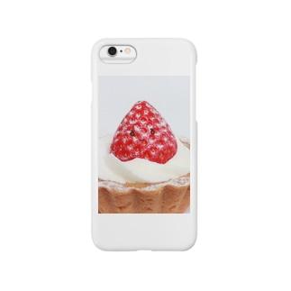 かおかし・いちごタルト Smartphone cases