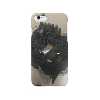 ジャングルベジタブル(炭) Smartphone cases