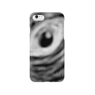 貴方の眼はブラックホール Smartphone cases