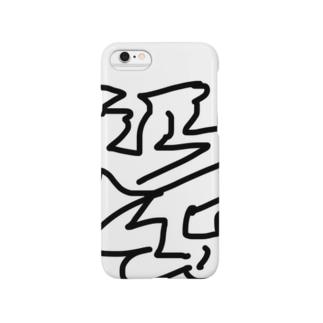 ウールiPhoneケース Smartphone cases