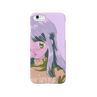 pink(注) Smartphone cases