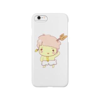 ドジっ子天使「くしざしちゃん」 Smartphone cases