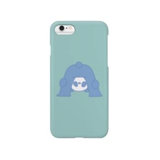 パンダとかくれんぼ(緑) Smartphone cases