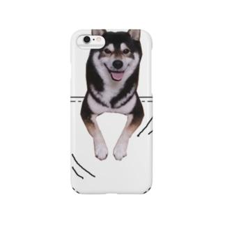 サンプル=あなたのペットちゃんinポケット Smartphone cases
