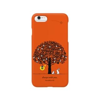 always with you.(ValenciaOrange) Smartphone cases