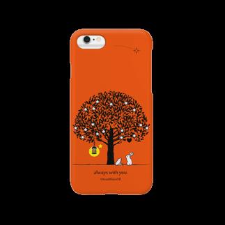 OrccaMiicofのalways with you.(ValenciaOrange) Smartphone cases