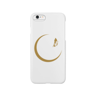 RosyPosyのMooner Butterfly (Gold) S Smartphone cases