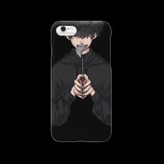 いゔの763iPhoneケース Smartphone cases