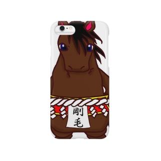 メルシーモンサン(剛毛神) Smartphone cases