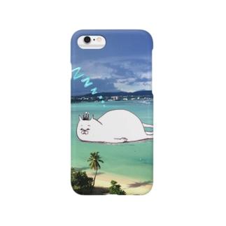 グアムの海に浮かぶ謎の生物 Smartphone cases