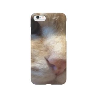 被災猫キマリ Smartphone cases