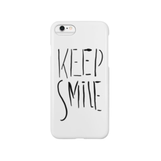 KEEP SMILE Smartphone cases