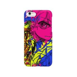 三色(KOKOKU) Smartphone cases