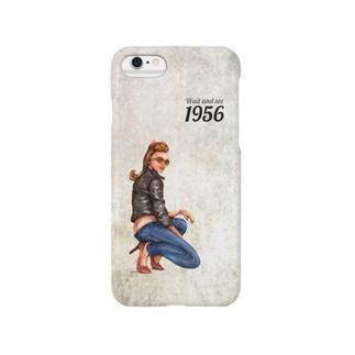 ロカビリーガール Smartphone cases