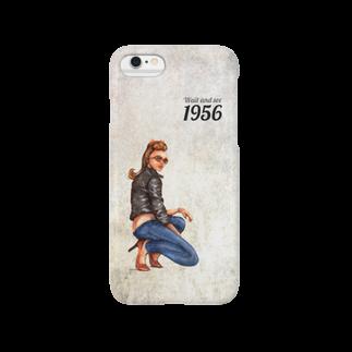 lulalunのロカビリーガール Smartphone cases