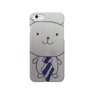 ネクタイくまさん Smartphone cases