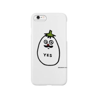 バウの「ナスビ」 Smartphone cases