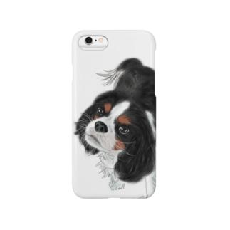 キャバリア№01 トライカラー Smartphone cases