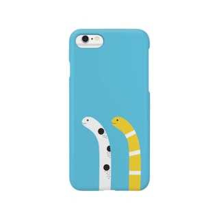 下からニュッとチンアナゴ(昼バージョン) Smartphone cases