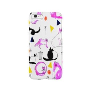ねこ80's Smartphone cases