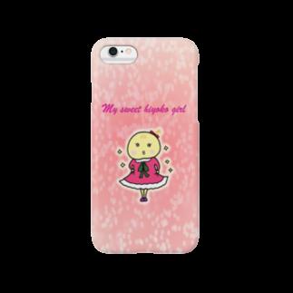 ももぞぅのおみせのひよ子ちゃん(おめかし) Smartphone cases