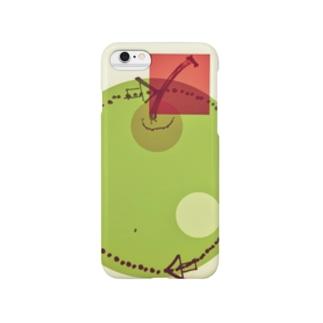 青りんご線 Smartphone cases
