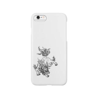 獅子 Smartphone cases
